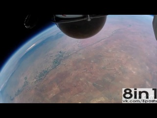 ������ � ��������� �� ������� - ������ ����������� / Skydive parachute jump from the space - Felix Baumgartner /